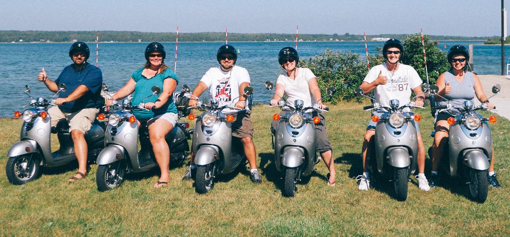 Annie's Island Mopeds - Washington Island, Wisconsin WI In